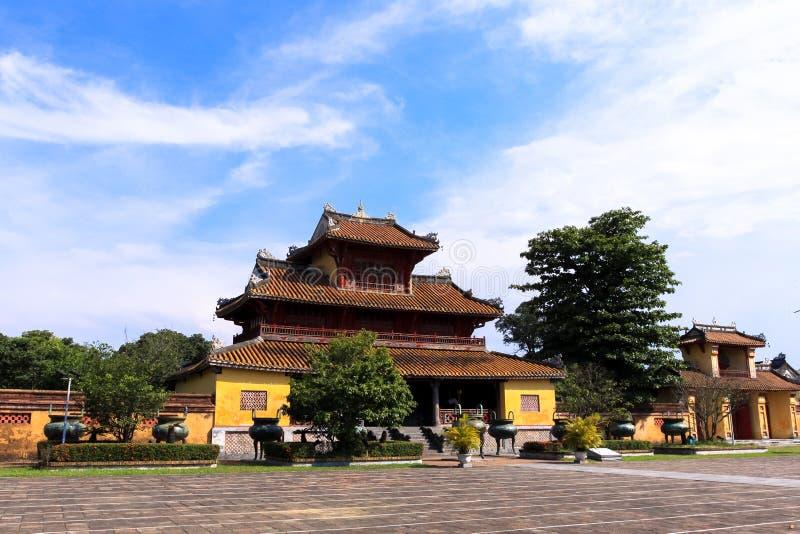 Hien Lam Cac Pavilion royaltyfria foton