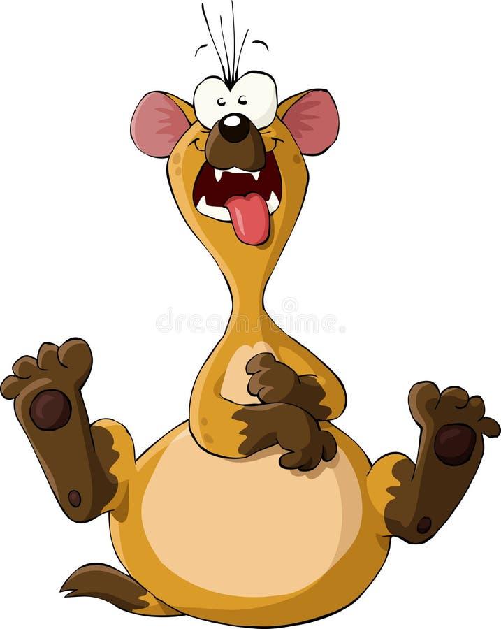 Download Hiena ilustracja wektor. Obraz złożonej z dziki, hiena - 21845598