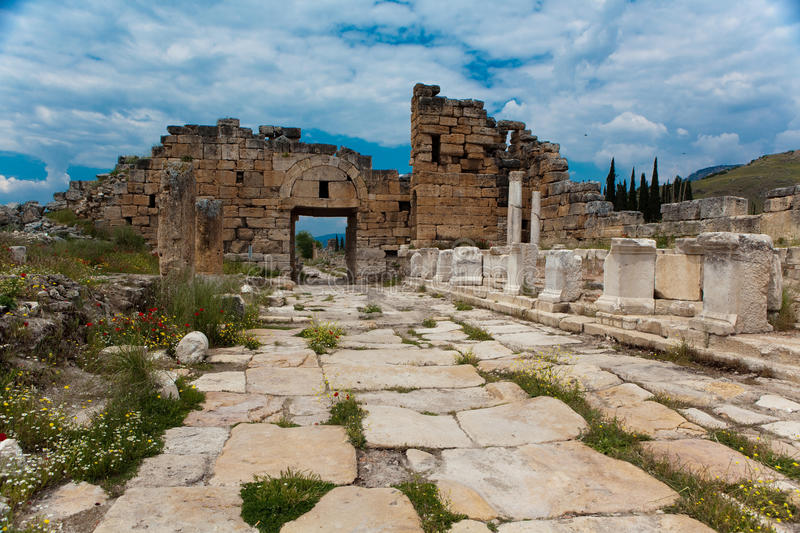 Hierapolis photo stock