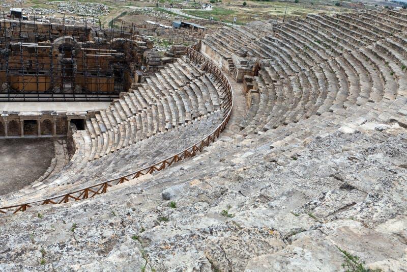 Hierapolis fotografia stock