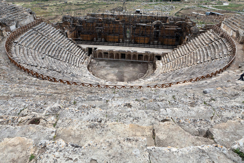 Hierapolis fotografie stock