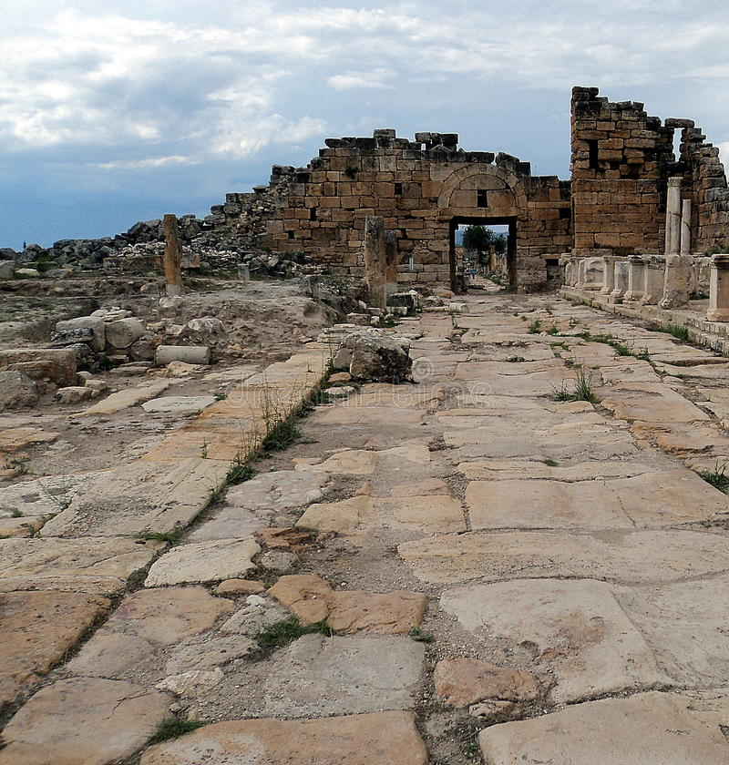 Hierapolis стоковые изображения rf