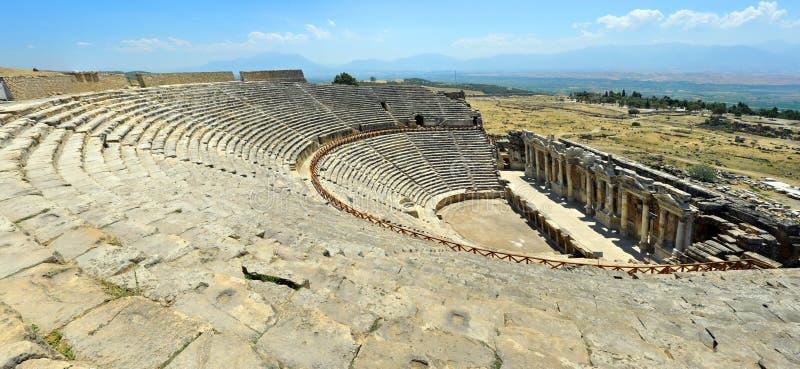 Hierapolis Amphitheater Royalty Free Stock Photo