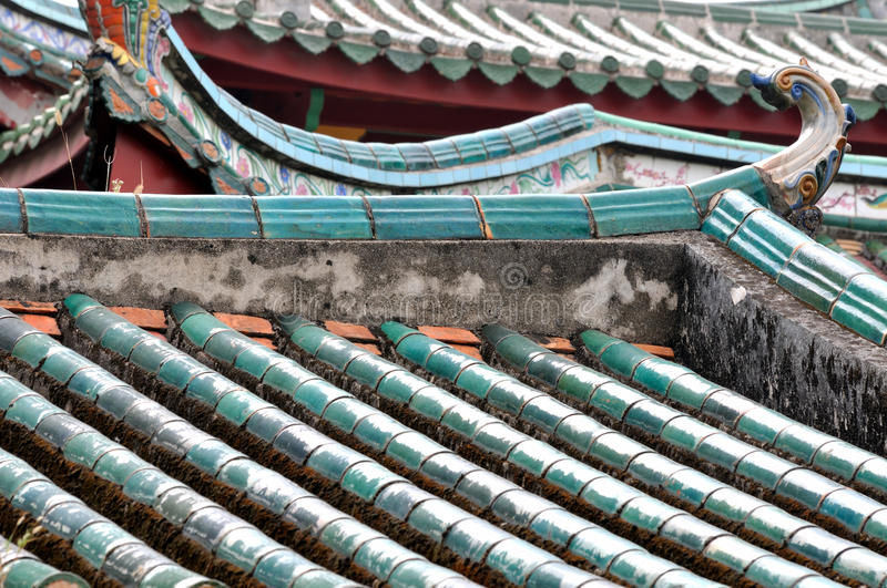 Download Hierarchical Roof In Chinese Old Temple Stock Image - Image: 27053767