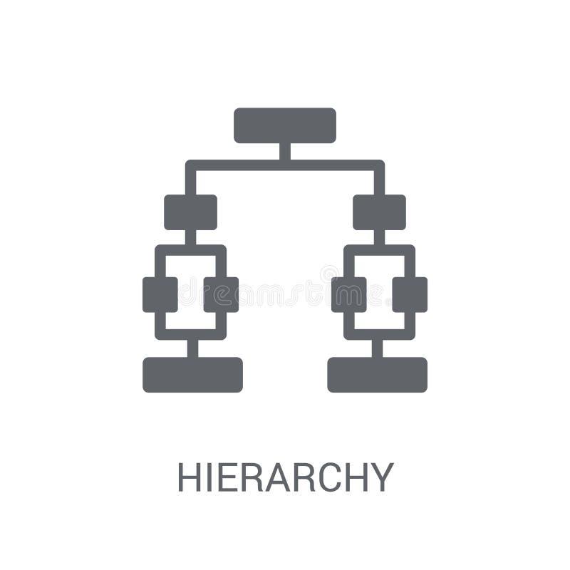 Hierarchii ikona  royalty ilustracja