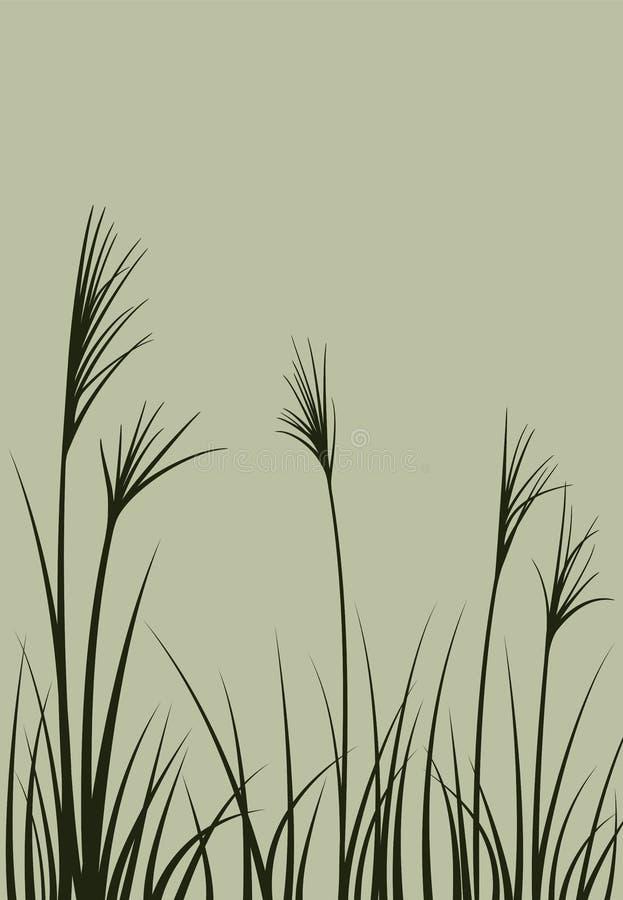 Hierba ilustración del vector