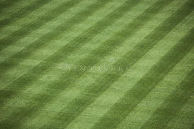 Hierba del estadio de béisbol fotografía de archivo libre de regalías