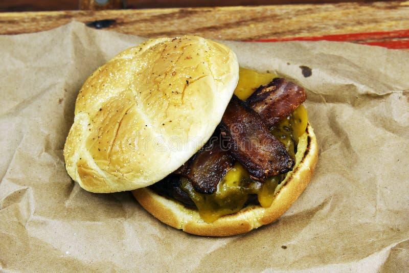 Hierba Fed Beef Hamburger foto de archivo libre de regalías