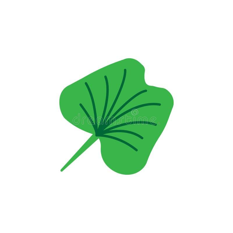 Hierba, icono de la lechuga Elemento del icono de la hierba para los apps móviles del concepto y de la web La hierba detallada, i stock de ilustración
