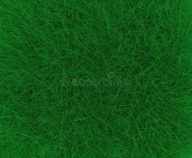 Hierba verde para el fondo stock de ilustración