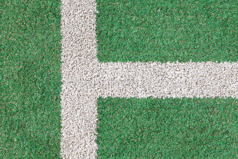 Download Hierba Verde Y Tira Del Blanco Foto de archivo - Imagen de balompié, curso: 41905608