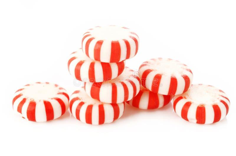 Hierbabuenas rayadas rojas imagen de archivo libre de regalías