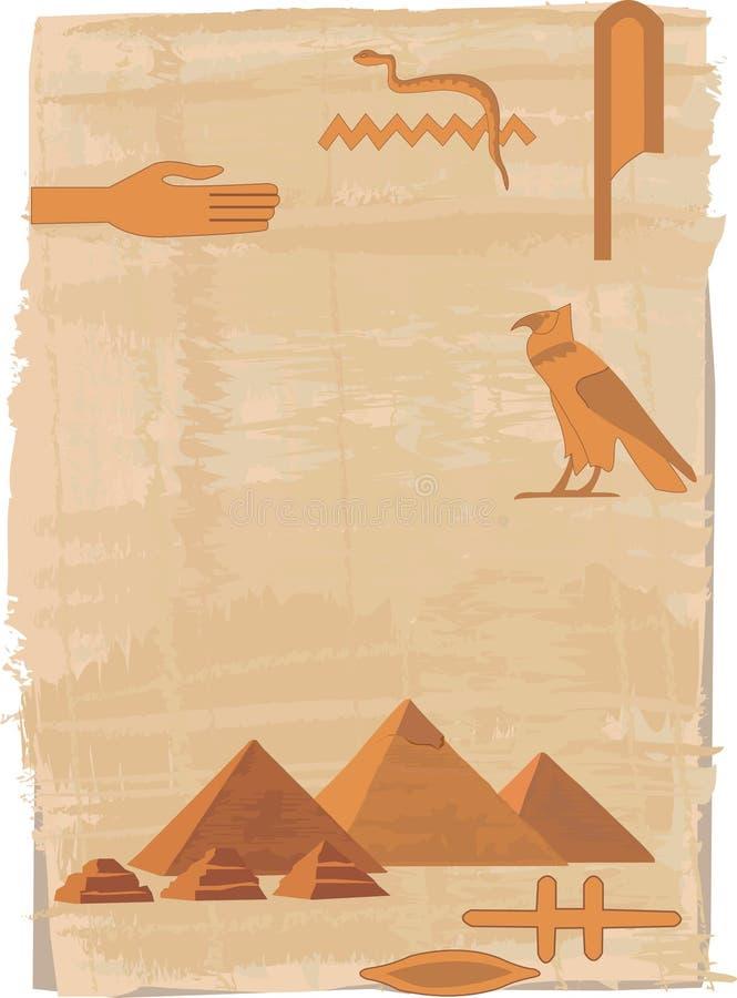 hieroglifów ostrosłupy
