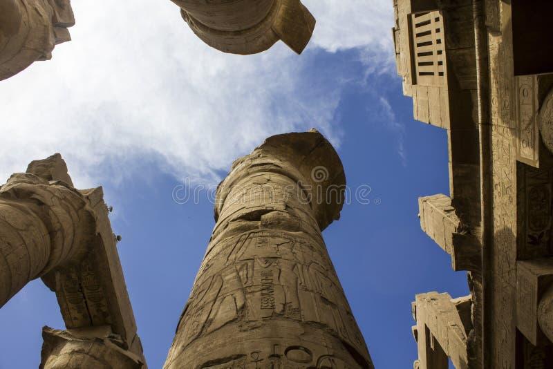 Karnak świątynia w Luxor. Egipt obraz stock