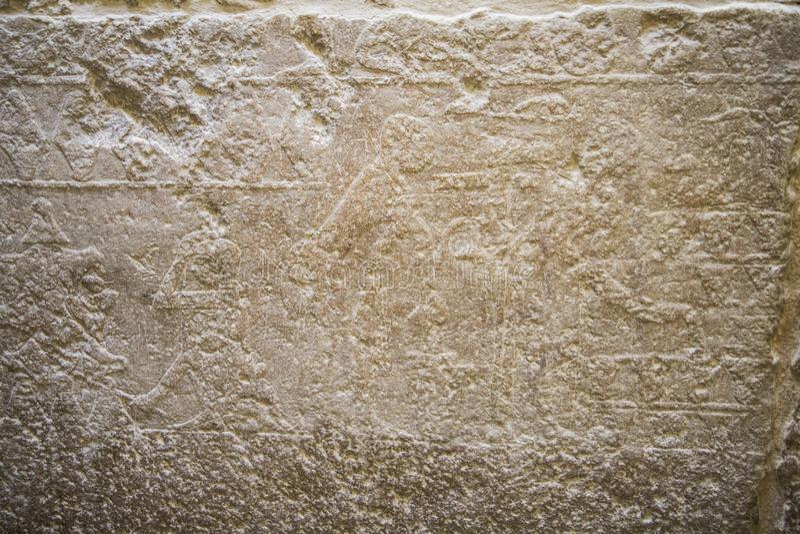 Hieroglyph Αίγυπτος Giza στοκ εικόνα