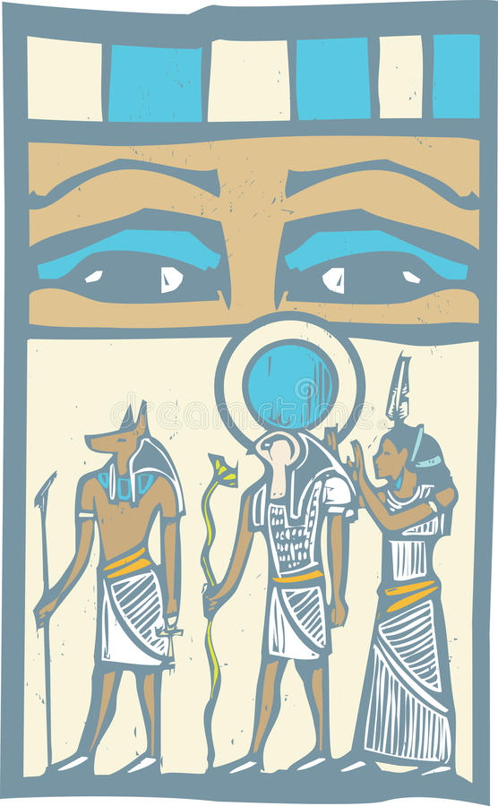 Download Hieroglyph Eyes Royalty Free Stock Image - Image: 26847106