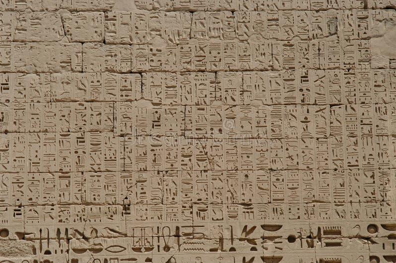 Hieroglyphen lizenzfreie stockfotos