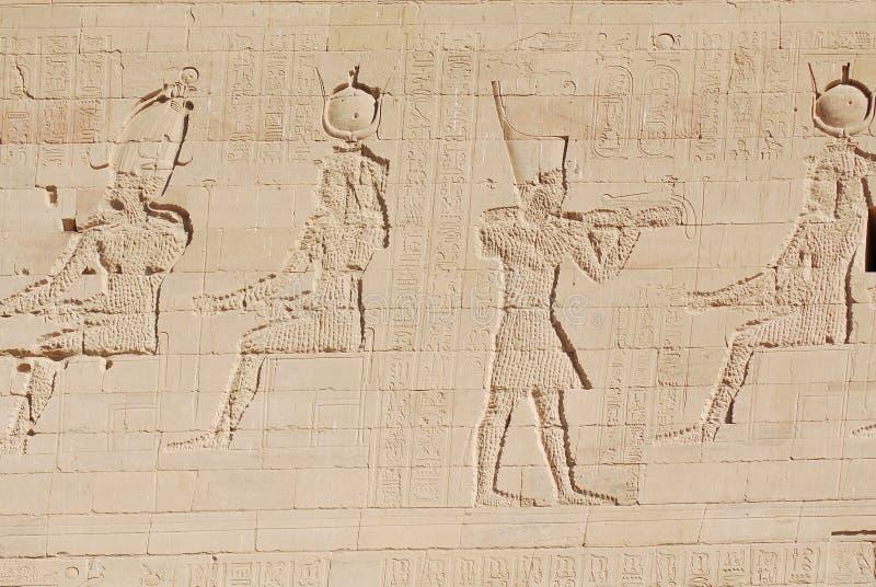 hieroglyphic fotografering för bildbyråer