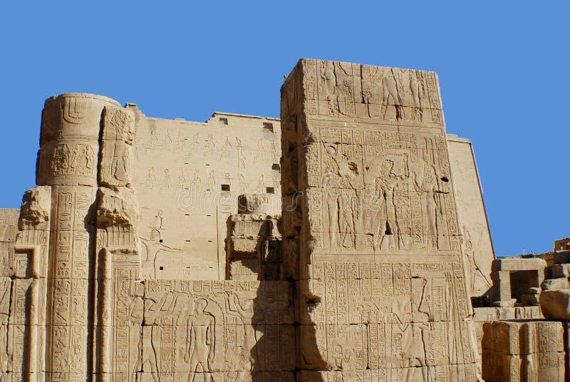 Hieroglyphic stock photography