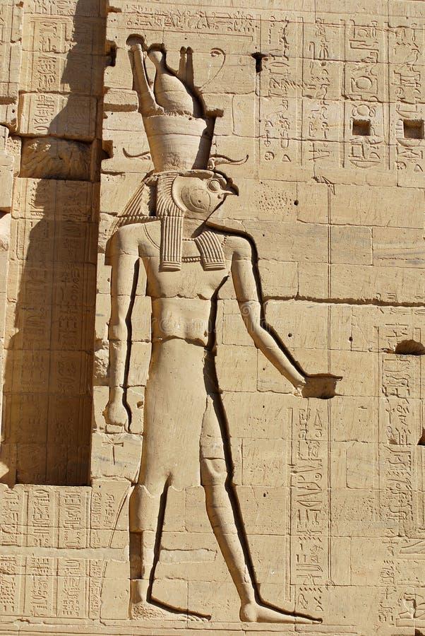 Hieroglyphic royalty free stock photography