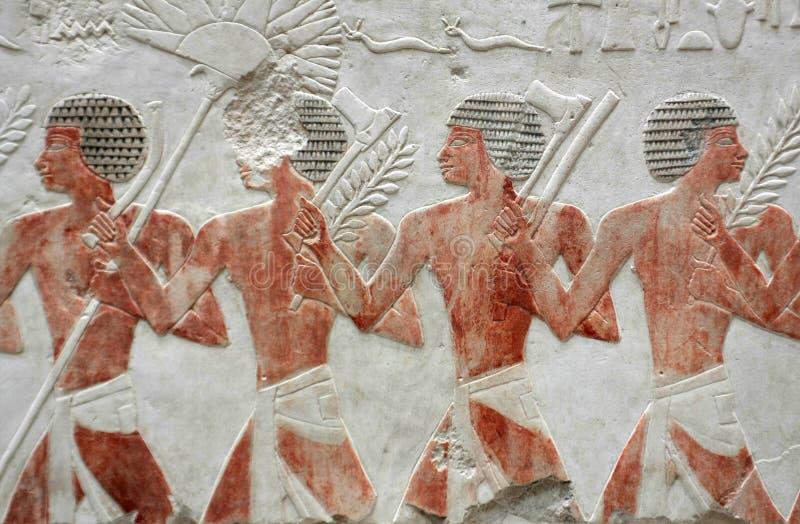 hieroglyphics royaltyfri foto