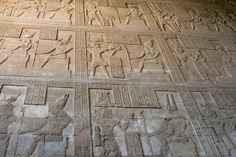 Hieroglyphics imagenes de archivo
