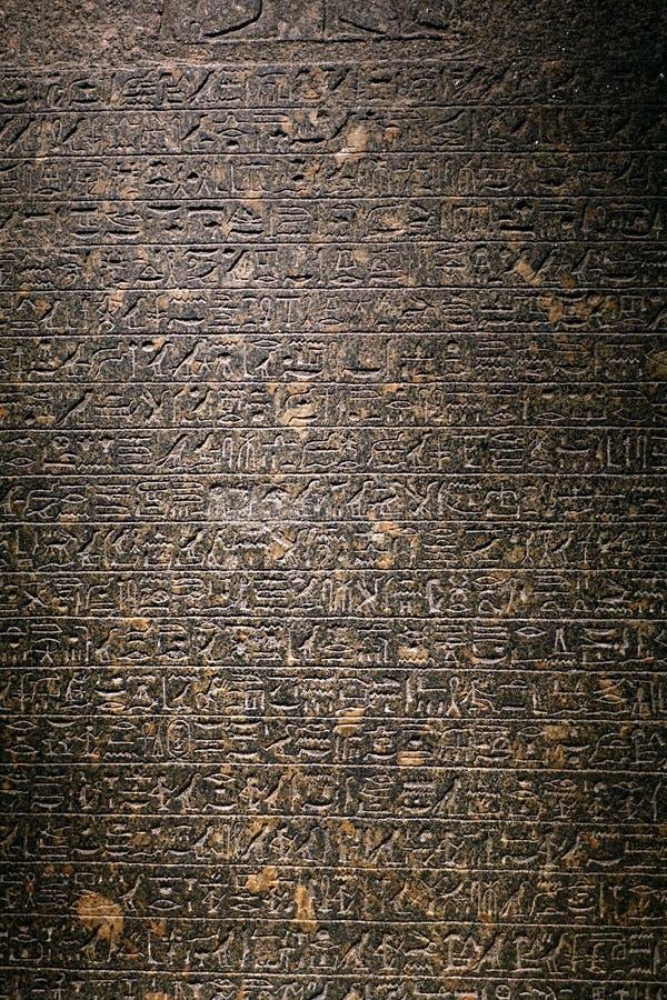 hieroglyphics imagem de stock