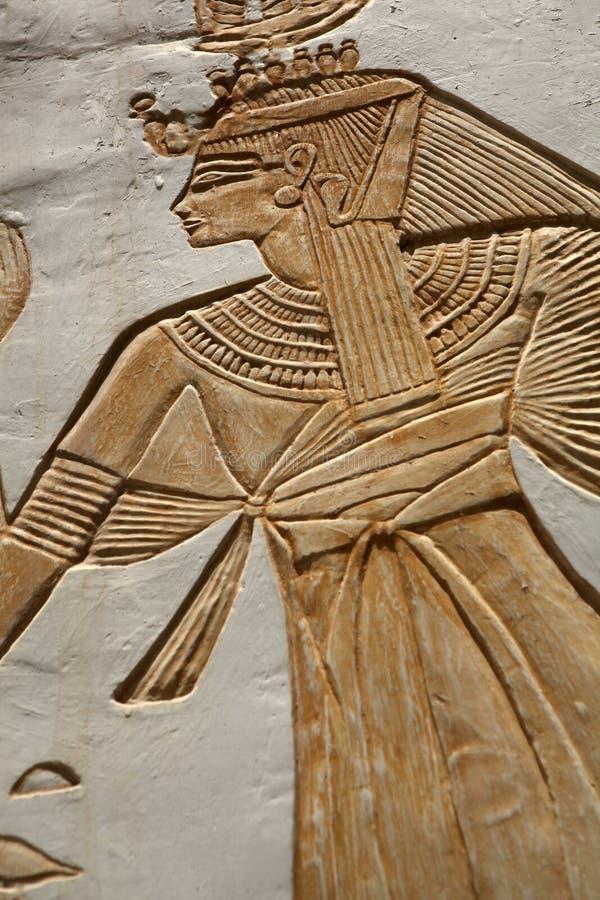 Hieroglyphics - close up stock photos