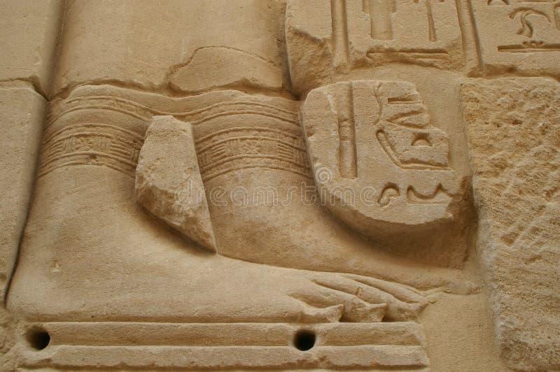Hieroglyphics de Eygpt imágenes de archivo libres de regalías