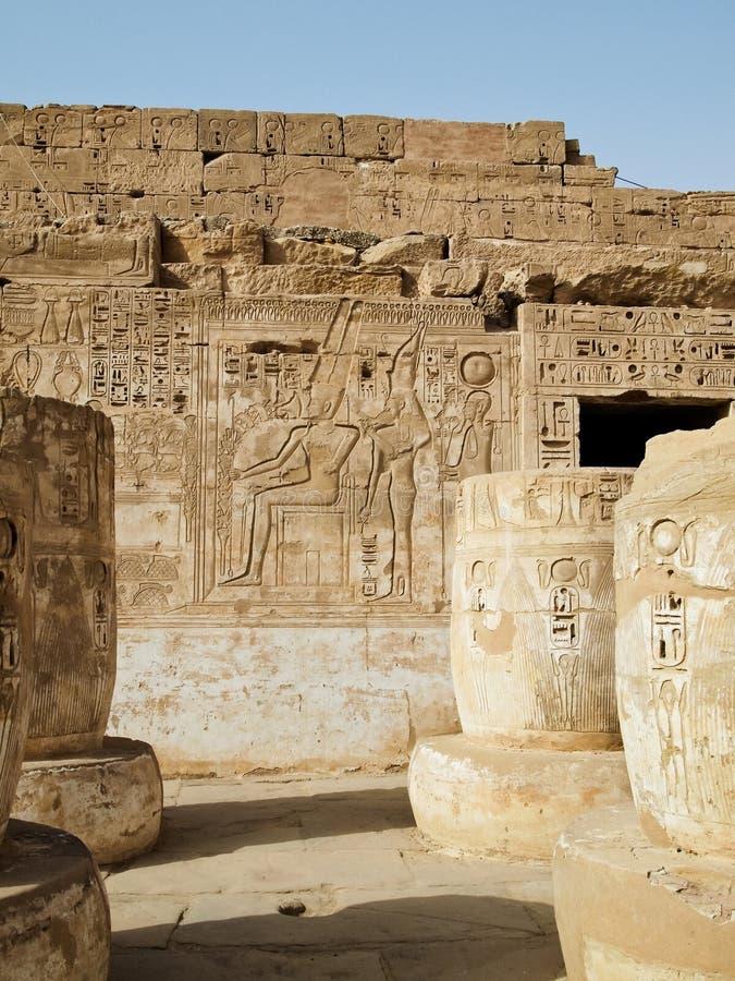 Free Hieroglyphs In Temple Of Edfu Royalty Free Stock Photography - 18912417