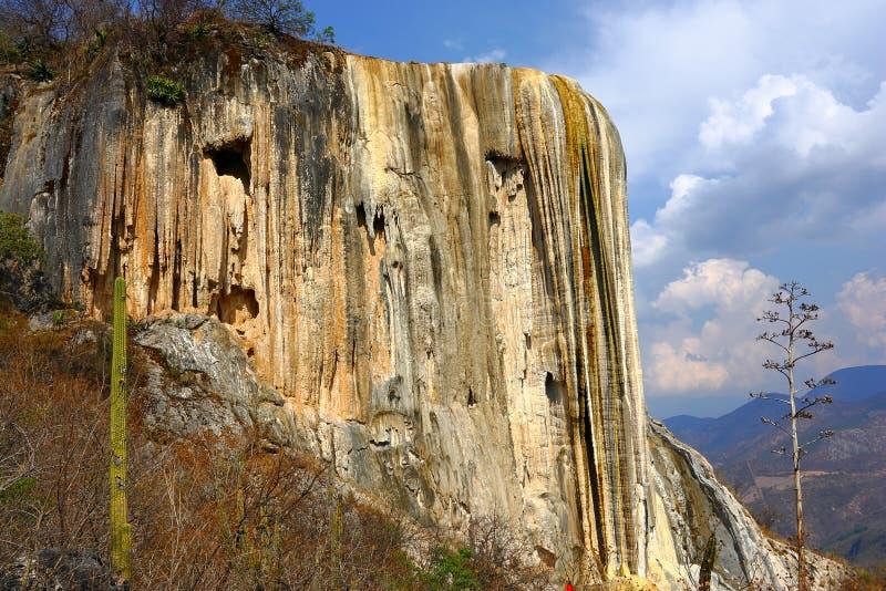 Hierve el Agua, Osłupiała siklawa w Oaxaca VIII zdjęcie royalty free