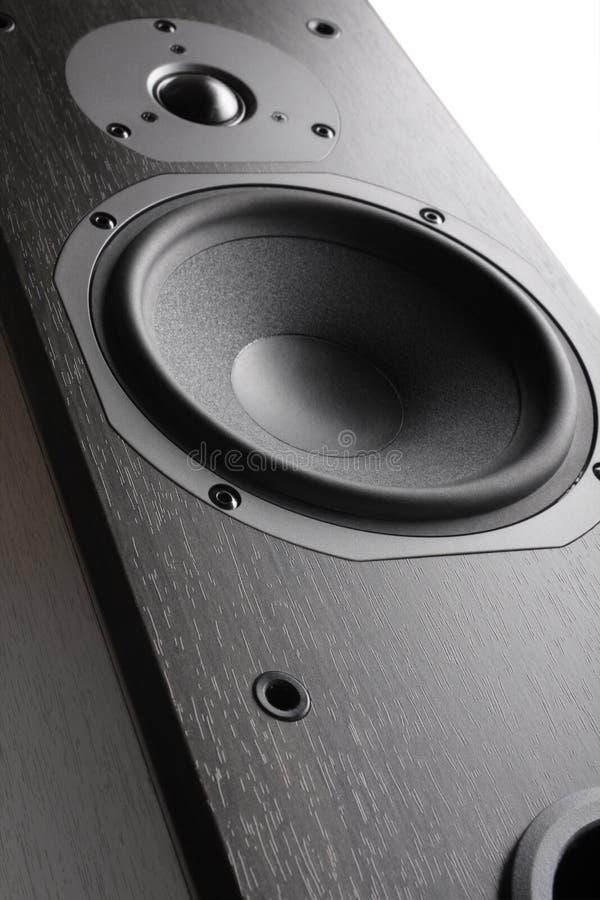 Hifi akustische Systems-Nahaufnahme stockfoto