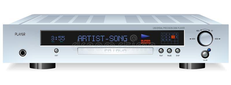 Download HiFi CD DVD MP3 Player stock vector. Image of cinema, home - 3747678