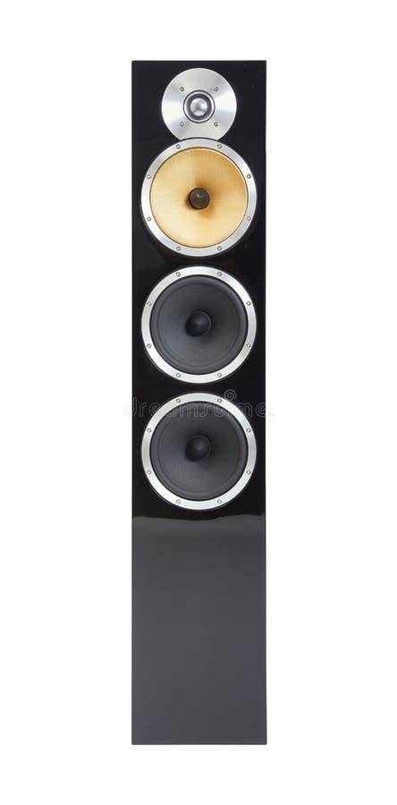 Hifi- högtalarepar royaltyfri foto