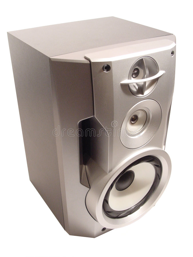 Download Hifi-speaker stock image. Image of blue, illustration, rendering - 605145