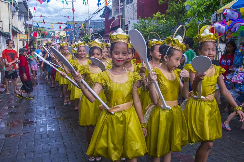 Higantes festival 2018. ANGONO , PHILIPPINES - NOV 22 : Participant in the Higantes festival in Angono Philippines on November 22 2018. The festival is a royalty free stock images