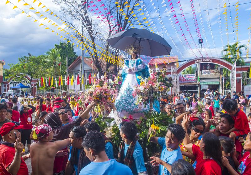 Higantes festival 2018. ANGONO , PHILIPPINES - NOV 22 : Participant in the Higantes festival in Angono Philippines on November 22 2018. The festival is a royalty free stock photography