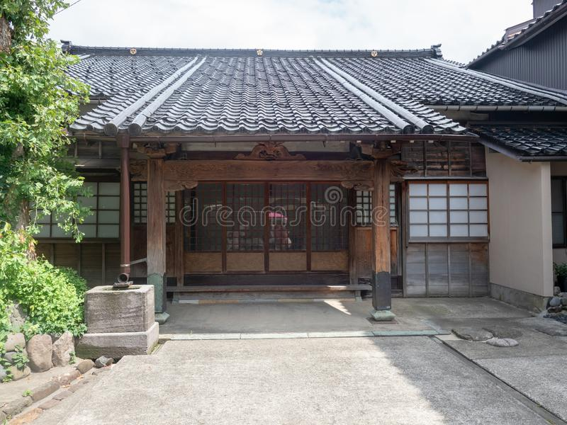 Higashi驱虫苋区,今池,日本 免版税库存照片