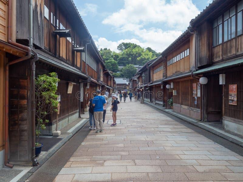 Higashi驱虫苋区,今池,日本 库存照片