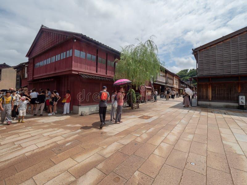 Higashi驱虫苋区,今池,日本 库存图片