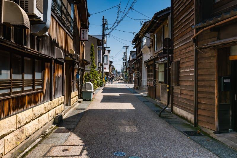 Higashi Chaya District royaltyfri foto