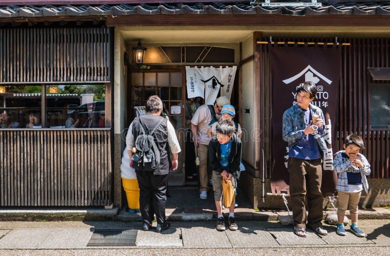 Higashi Chaya District royalty-vrije stock foto's