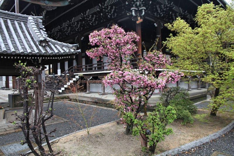 Higashi Honganji, Kyoto royalty-vrije stock afbeelding