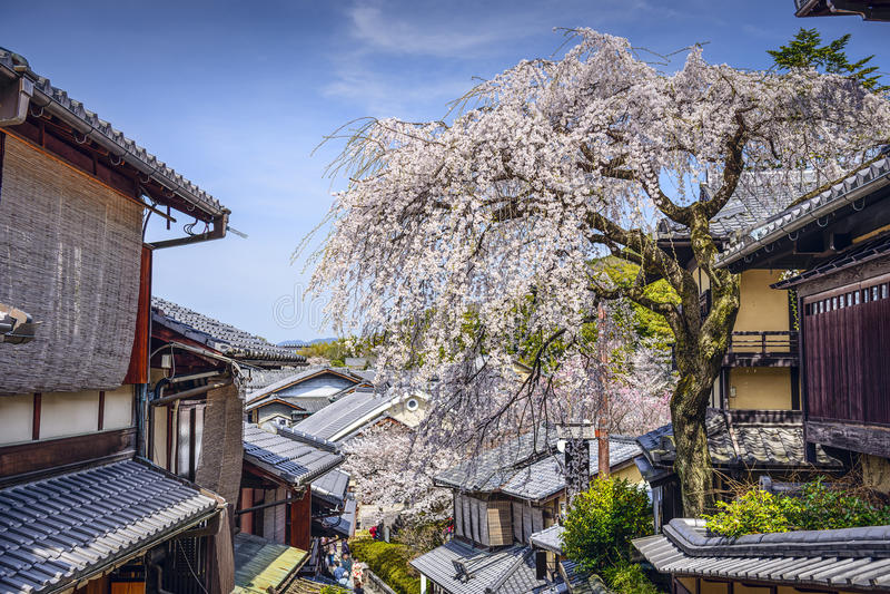 Higashiyama, Κιότο, Ιαπωνία στοκ εικόνες με δικαίωμα ελεύθερης χρήσης