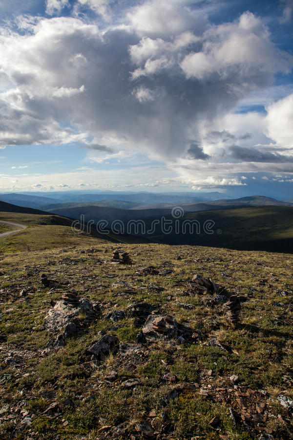 High Alpine Tundra stock photos