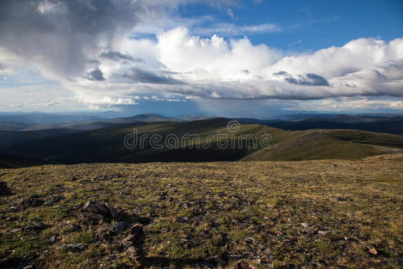 High Alpine Tundra royalty free stock photography
