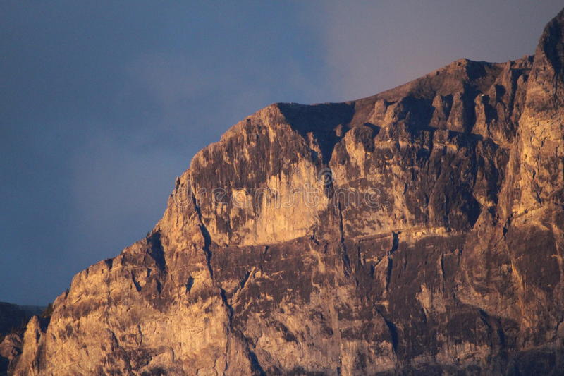 High Alpine Vista stock photography