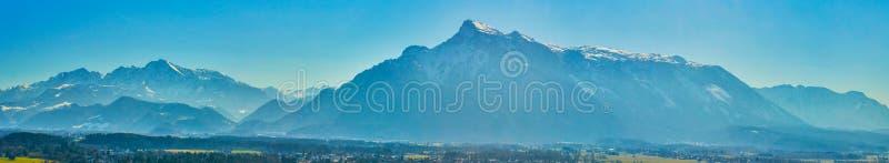 The high Alps of Salzburg suburbs, Austria royalty free stock photo