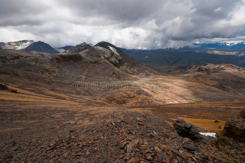 Download High Altitude Landscape In Bolivian Andes Stock Photo - Image: 13204978