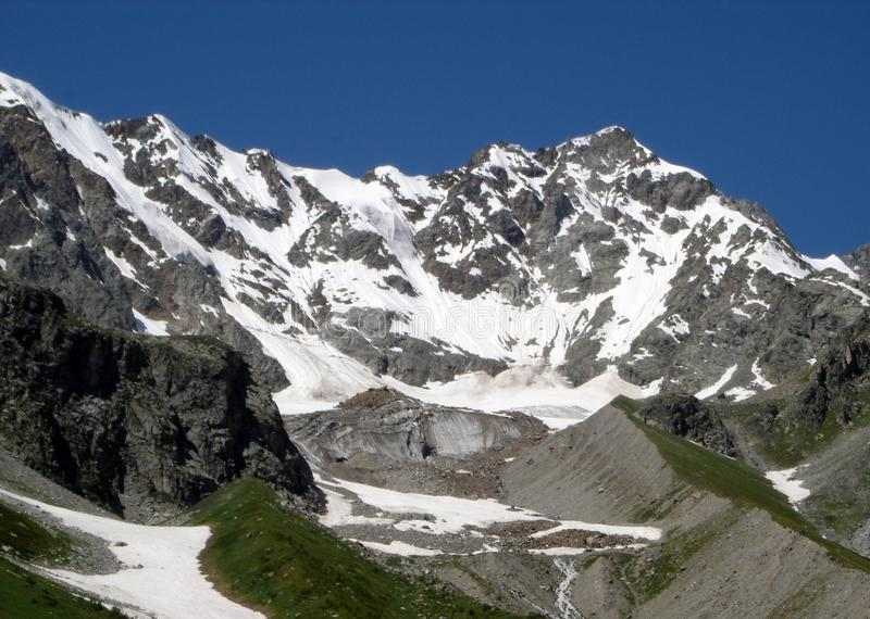Mountains of the Caucasus. royalty free stock photography